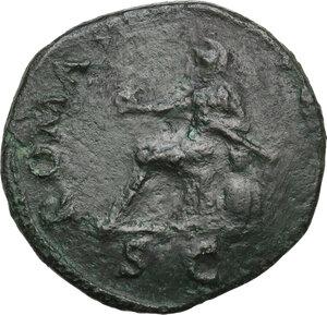 reverse: Vespasian (69-79 AD).AE Dupondius