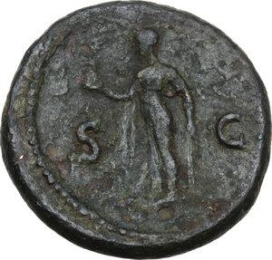 reverse: Titus (79-81).AE As, 79 AD