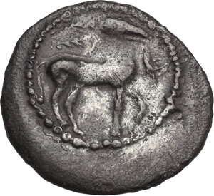obverse: Gela. AR Litra, c. 465-450 BC