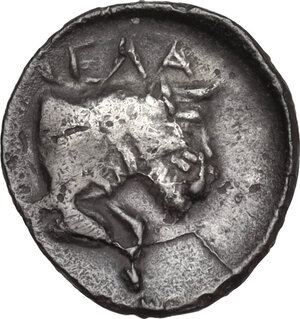reverse: Gela. AR Litra, c. 465-450 BC