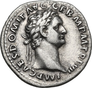 obverse: Domitian (81-96).AR Denarius, 88 AD