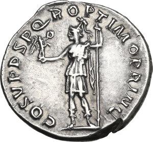 reverse: Trajan (98-117 AD).AR Denarius, Rome mint,107-111 AD
