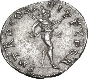 reverse: Trajan (98-117).AR Denarius, 114-117 AD