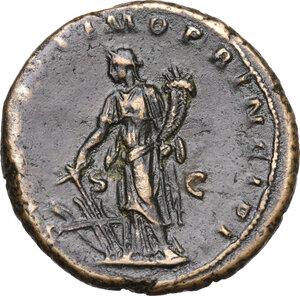 reverse: Trajan (98-117 AD).AE As, 103-111 AD