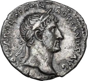 obverse: Hadrian (117-138).AR Denarius, 119 - 122 AD