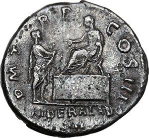 reverse: Hadrian (117-138).AR Denarius, 119 - 122 AD