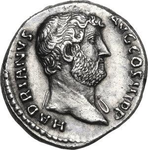 obverse: Hadrian (117-138).AR Denarius, 134-138 AD