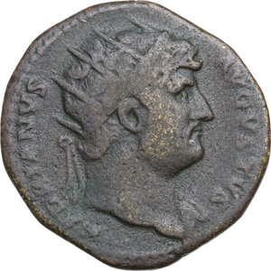 obverse: Hadrian (117-138).AE Dupondius, 125-128 AD