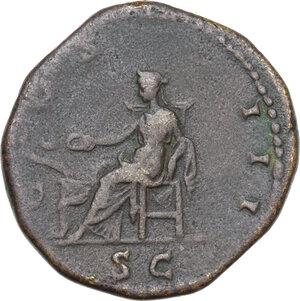 reverse: Hadrian (117-138).AE Dupondius, 125-128 AD