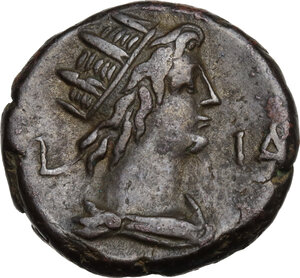 reverse: Hadrian (117-138).BI Tetradrachm, Alexandria mint, Egypt. Dated year 14=129/30 AD