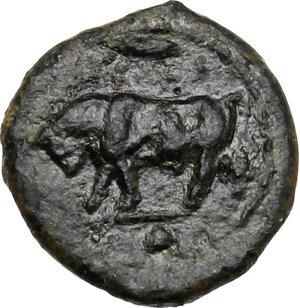 obverse: Gela. AE Onkia, c. 420-405 BC