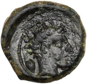 reverse: Gela. AE Onkia, c. 420-405 BC