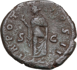reverse: Aelius (Caesar 136-138).AE As, 137 AD