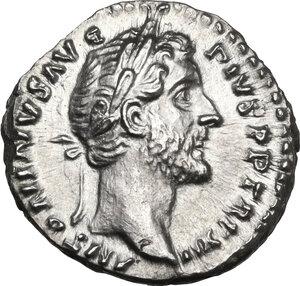 obverse: Antoninus Pius (138-161).AR Denarius, Rome mint