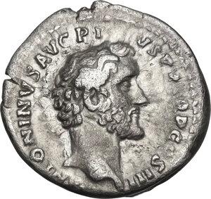 obverse: Antoninus Pius with Marcus Aurelius as Caesar (139-161).AR Denarius, 140-144 AD