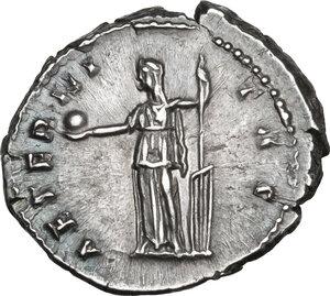 reverse: Faustina I, wife of Antoninus Pius (died 141 AD).AR Denarius, Rome mint