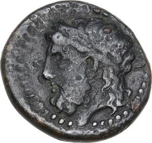 reverse: Gela. AE 14 mm. c. 339-310 BC