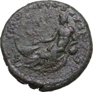 reverse: Marcus Aurelius (161-180).AE As, Rome mint, 174-175 AD