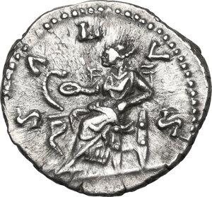reverse: Faustina II, wife of Marcus Aurelius (died 176 AD).AR Denarius, struck under Marcus Aurelius, circa 165-170 AD