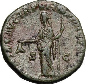 reverse: Commodus (177-192).AE Dupondius, 181 AD