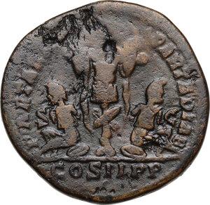 reverse: Septimius Severus (193-211).AE Sestertius, 195 AD
