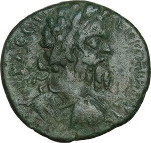 obverse: Septimius Severus (193-211).AE 17mm. Marcianopolis mint, Moesia Inferior