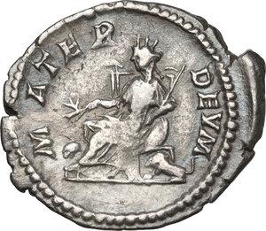reverse: Iulia Domna, wife of Septimius Severus (died 217 AD).AR Denarius, struck under Septimius Severus