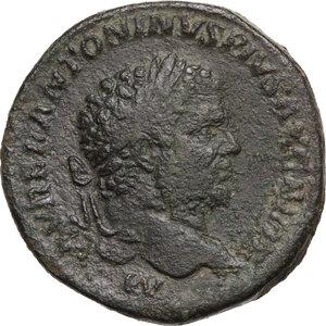 obverse: Caracalla (198-217). AE Sestertius, 210-213 AD