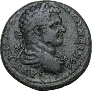 obverse: Caracalla (198-217).AE 29 mm. Pautalia mint, Thrace