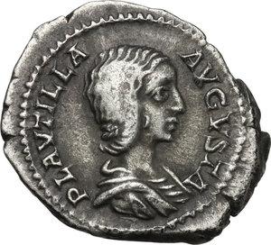 obverse: Plautilla, wife of Caracalla (died 212).AR Denarius, struck under Caracalla