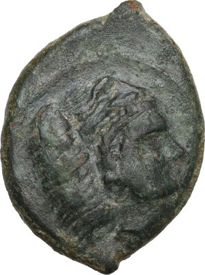 reverse: Himera (as Thermai Himerenses). AE 12 mm, c. 407-406 BC