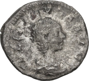 obverse: Julia Paula, first wife of Elagabalus (219-220).AR Denarius, struck under Elagabalus, 219-220 AD