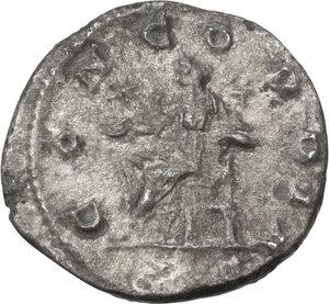 reverse: Julia Paula, first wife of Elagabalus (219-220).AR Denarius, struck under Elagabalus, 219-220 AD