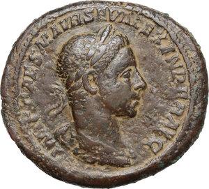 obverse: Severus Alexander (222-235 AD).AE As, 222-231 AD