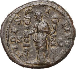 reverse: Severus Alexander (222-235 AD).AE As, 222-231 AD