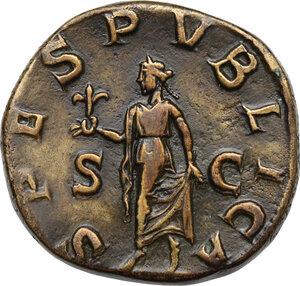 reverse: Severus Alexander (222-235 AD).AE Sestertius, 231-235 AD