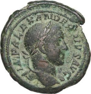 obverse: Severus Alexander (222-235).AE As, 231-235 AD