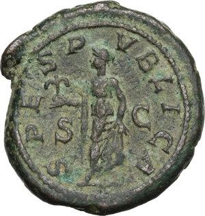 reverse: Severus Alexander (222-235).AE As, 231-235 AD