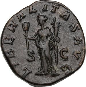 reverse: Maximinus I (225-238).AE Sestertius, Rome mint