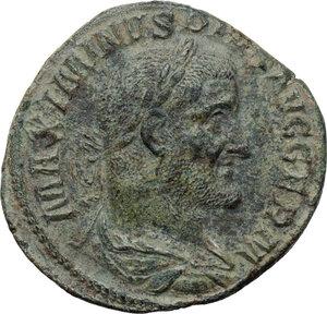obverse: Maximinus I (235-238).AE Sestertius, Rome mint. 236-238 AD