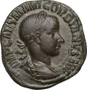 obverse: Gordian III (238-244 AD).AE Sestertius, 240 AD