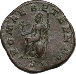 reverse: Gordian III (238-244 AD).AE Sestertius, 240 AD