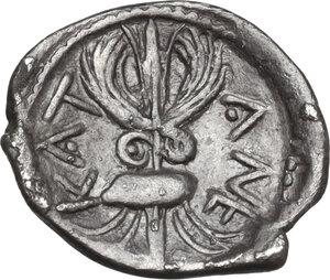 reverse: Katane. AR Litra, circa 460-450 BC