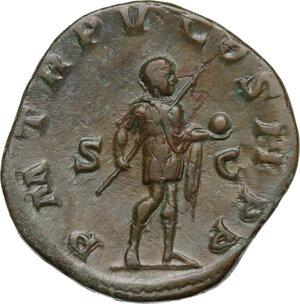reverse: Gordian III (238-244 ).AE Sestertius, Rome mint