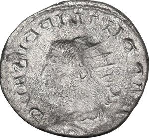 reverse: Philip I (244-249).AR Brockage Antoninianus