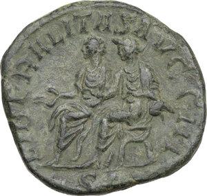 reverse: Philip II (247-249).AE Sestertius, 246-249