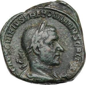 obverse: Trebonianus Gallus (251-253).AE Sestertius, Rome mint