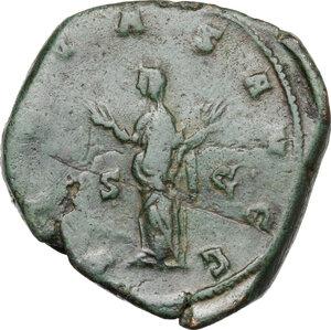 reverse: Trebonianus Gallus (251-253).AE Sestertius, Rome mint