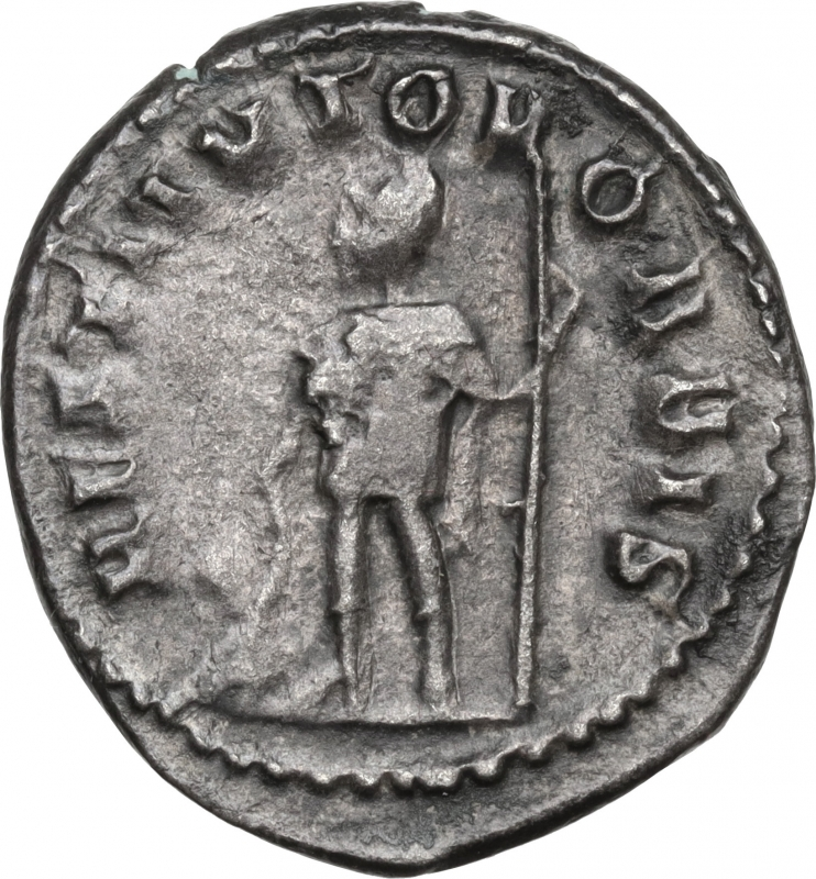 reverse: Valerian I (253-260).AR Antoninianus, Rome mint