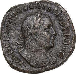 obverse: Valerian I (253-260).AE Sestertius, 254-256 AD
